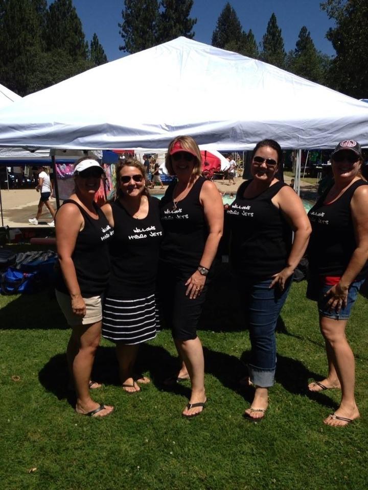 Swim Moms Take Home The Spirit Award! T-Shirt Photo
