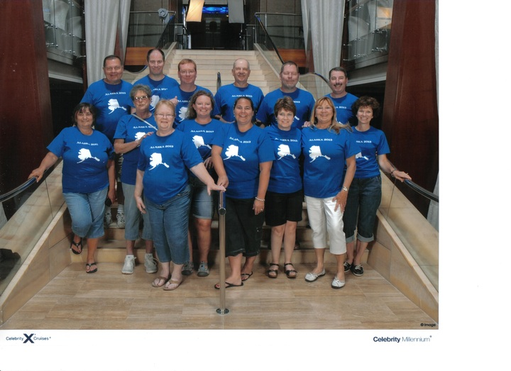 Group Photo    Alaska Cruise 2013 T-Shirt Photo