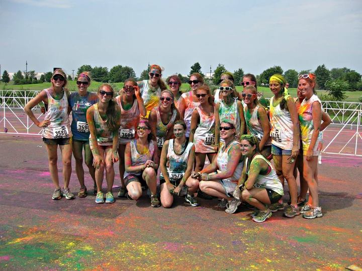 Shu Ot Color Run After T-Shirt Photo