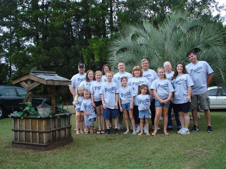 Visting Grandpa Bosecker T-Shirt Photo