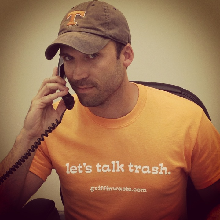 Hard At Work.... Talking Trash! T-Shirt Photo