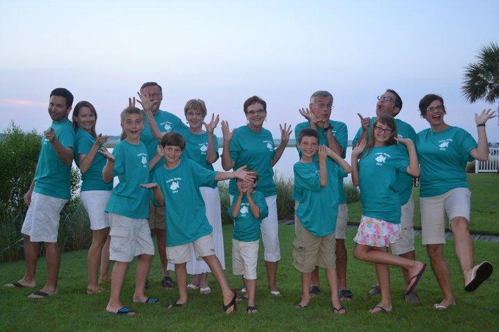 Happy Mullet Vacation Photo T-Shirt Photo