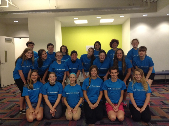 Playhouse Square's Broadway Summer Camp 2013 T-Shirt Photo