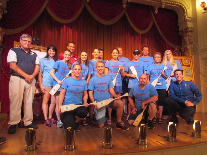 Engin Oars Skyway Gondola Gladiators Mixed Rec Champs T-Shirt Photo