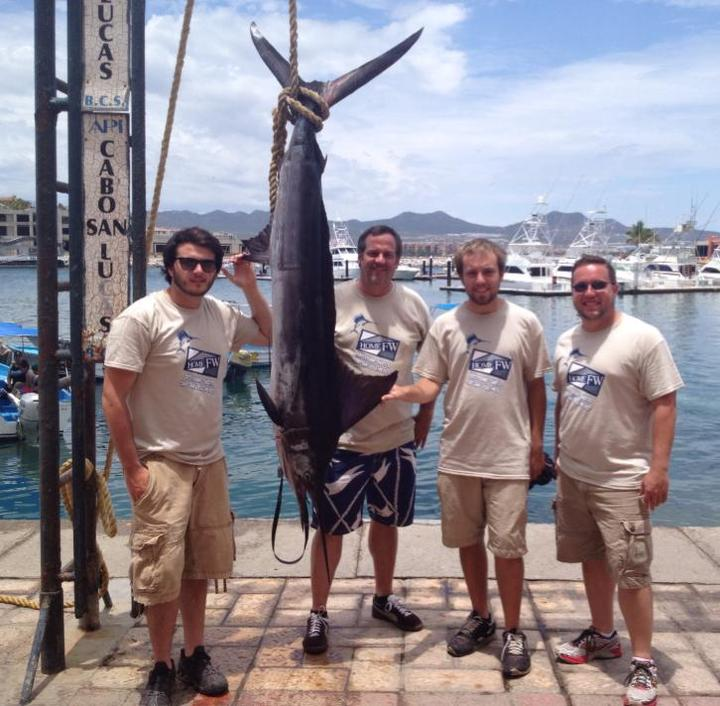 Our Cabo Fishing Adventure 2013, 150 Lb. Marlin T-Shirt Photo
