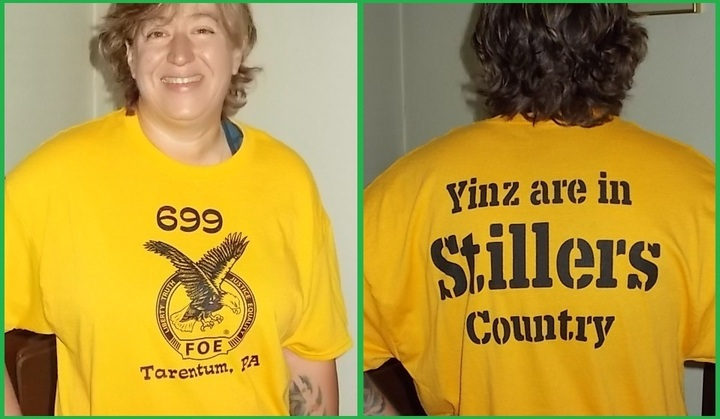 Translation: You're In Steelers Country T-Shirt Photo