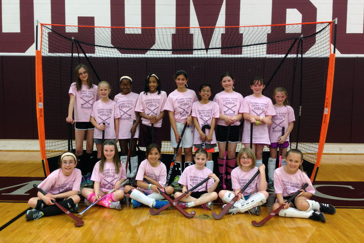 Girls Youth Field Hockey T-Shirt Photo