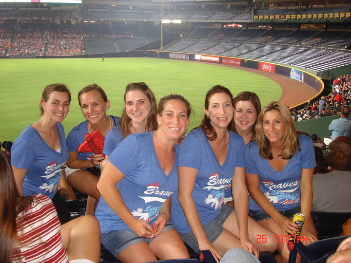 Jaime's Atlanta Braves Bachelorette Weekend T-Shirt Photo