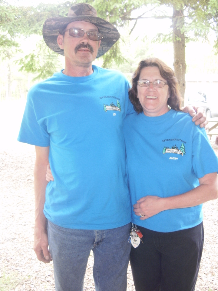 Seven Mountians Campground & Cabins T-Shirt Photo