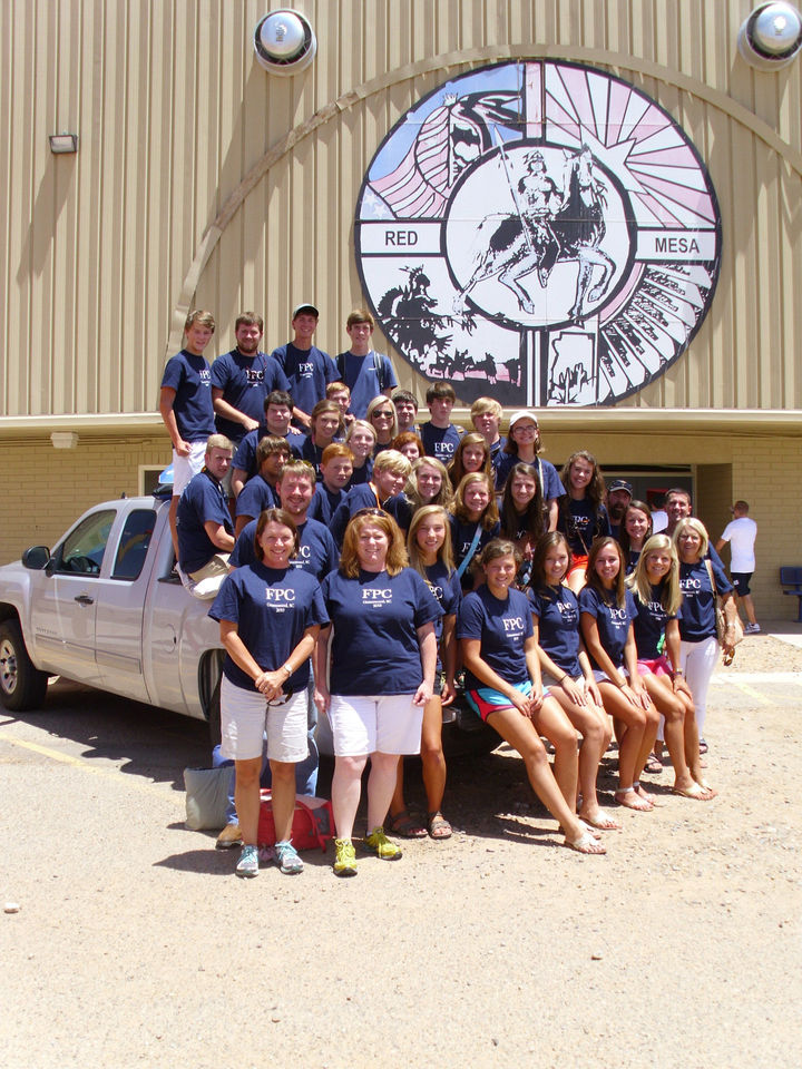 Red Mesa Mission Team T-Shirt Photo
