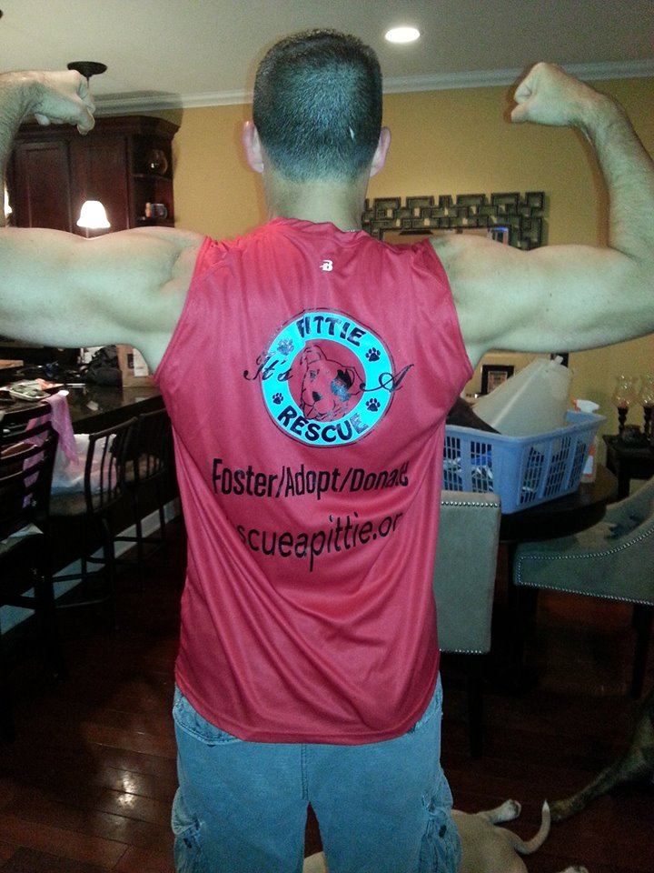 It's A Pittie Rescue T-Shirt Photo
