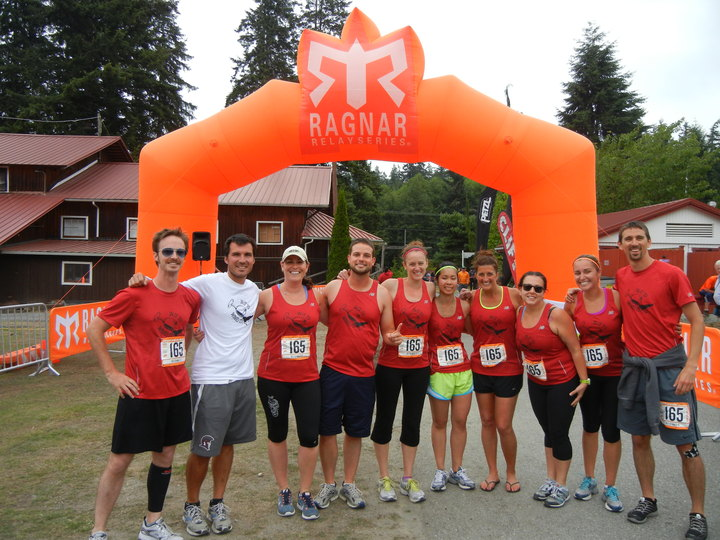 We Run . . . We Wine . . . We Win! T-Shirt Photo