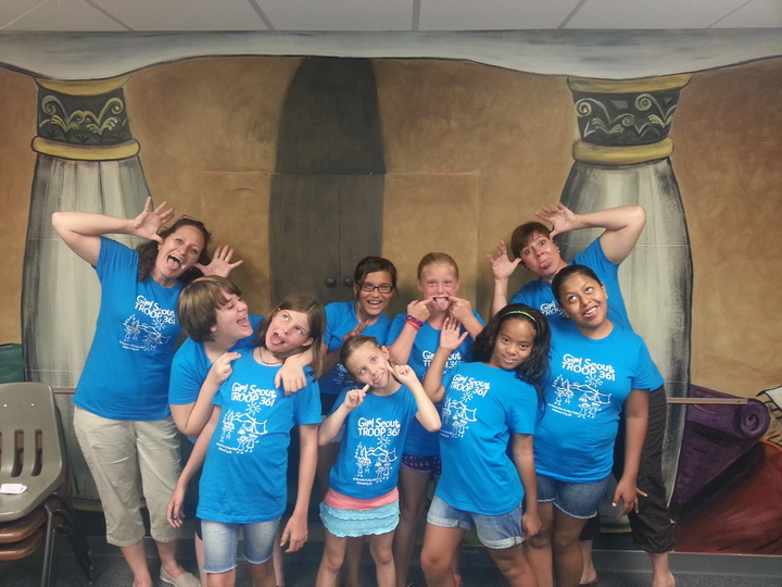 Troop 361 Knows How To Have Fun! T-Shirt Photo