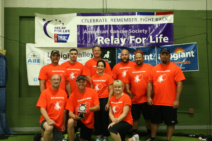 Ballbusters Dodgeball Team T-Shirt Photo
