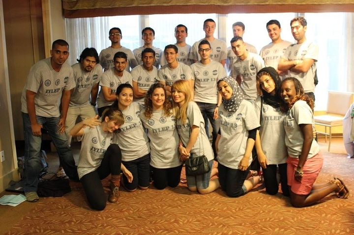 Iraqi Young Leaders Exchange Program (Iylep) Participants T-Shirt Photo