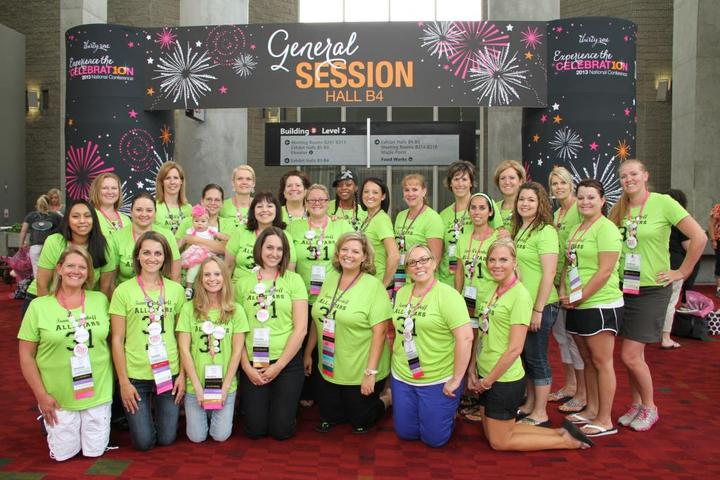 Celebrating Thirty One Gifts In Atlanta T-Shirt Photo