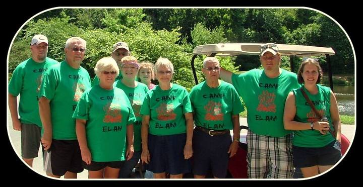 Fun With Family At Camp Elam! T-Shirt Photo