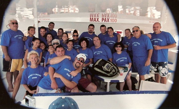 Family Cruise 2006 T-Shirt Photo