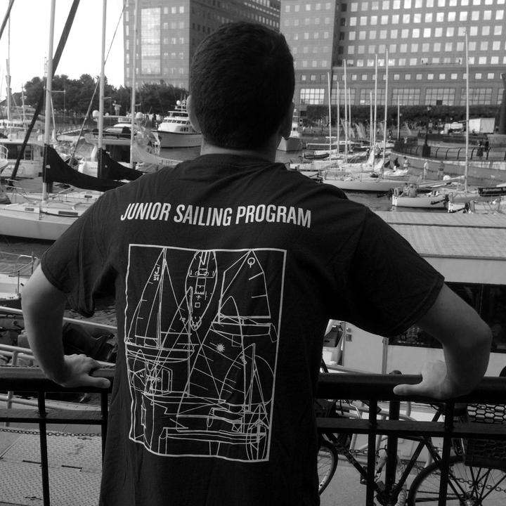John George At The Marina T-Shirt Photo