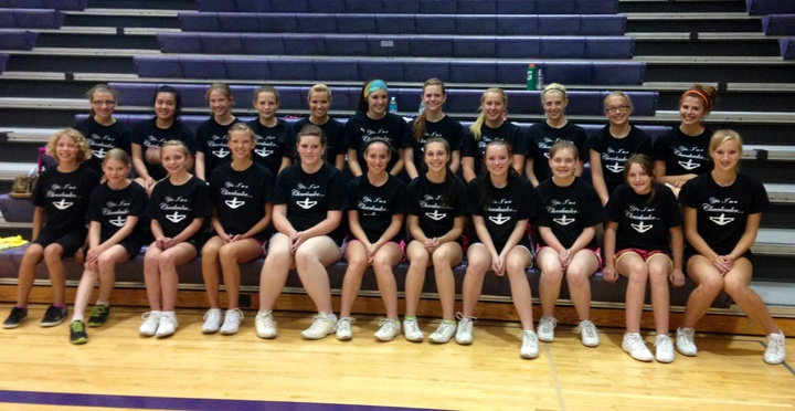 Cheer Camp 2013 T-Shirt Photo