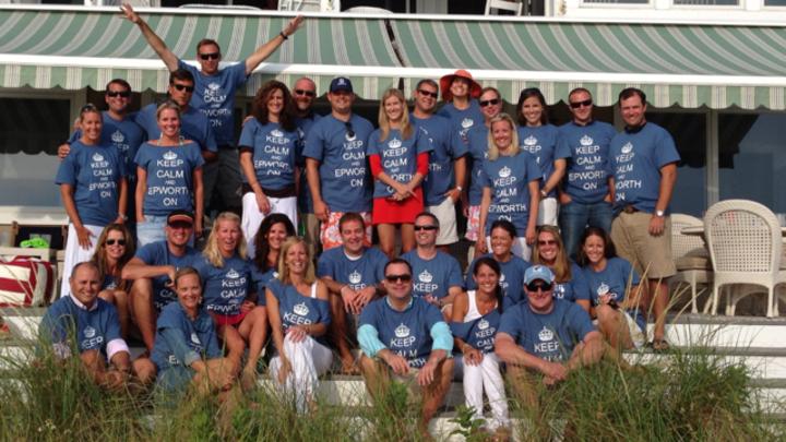 Keep Calm & Epworth On Meet Up 2013 T-Shirt Photo