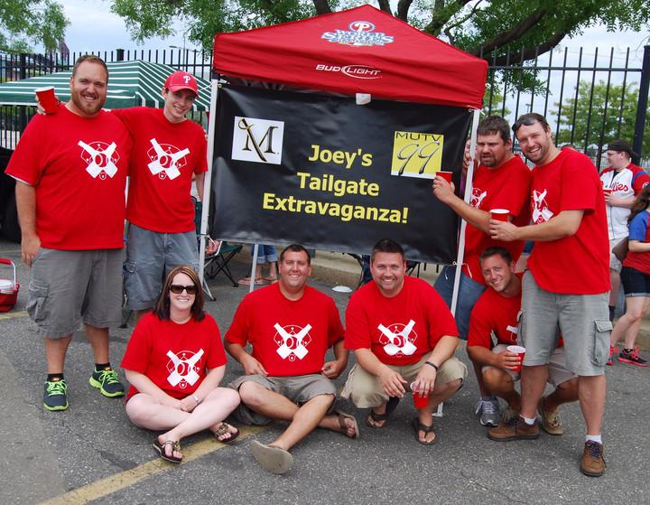 Phillies Tailgate Original Members T-Shirt Photo