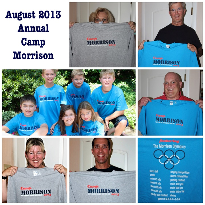Annual Camp Morrison & The Morrison Olympics T-Shirt Photo