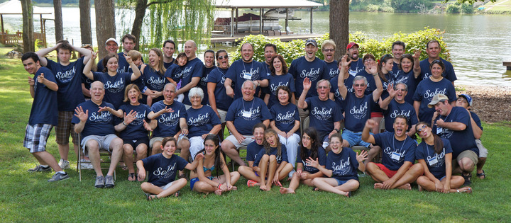 Reunion Fun At The Lake T-Shirt Photo