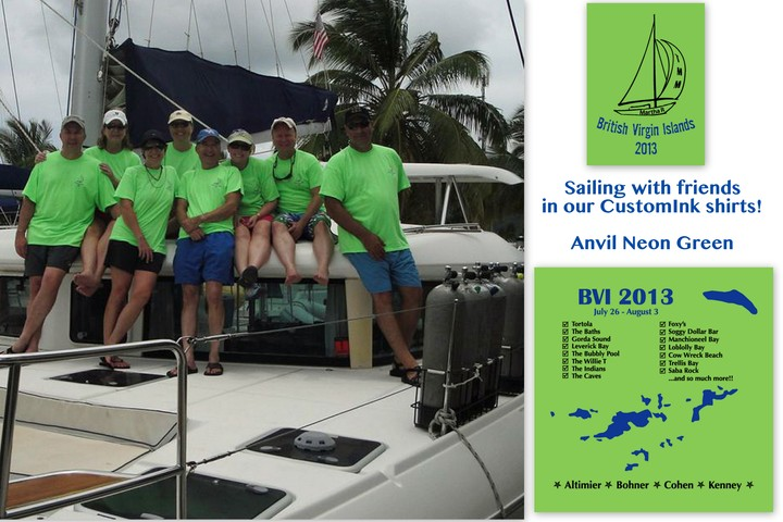 Sail Away! T-Shirt Photo
