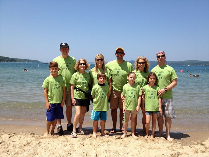 Our Family Eats More Kale T-Shirt Photo