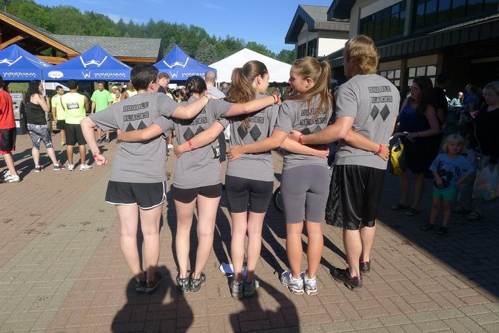 Warrior Dash Team! T-Shirt Photo