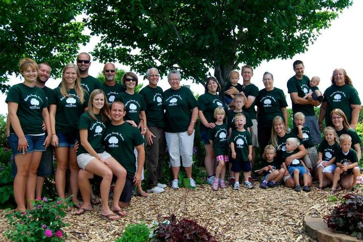 Ligtenberg Family Reunion T-Shirt Photo
