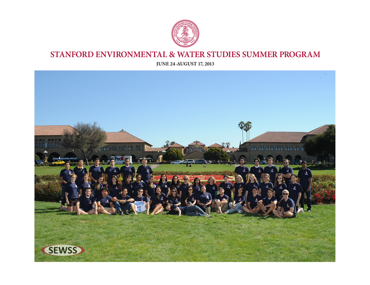2013 Stanford Sewss Program! T-Shirt Photo