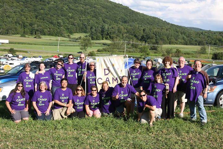 Camp Dar Camp At Falcon Ridge T-Shirt Photo