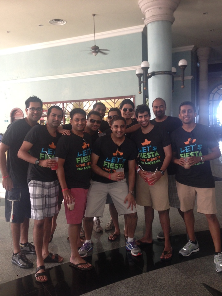 Team La Fiesta   Cancun T-Shirt Photo