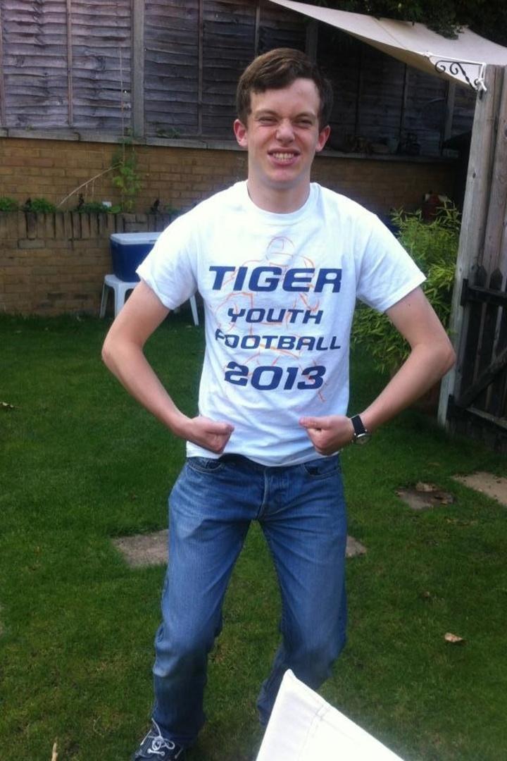 Tiger Football In London T-Shirt Photo