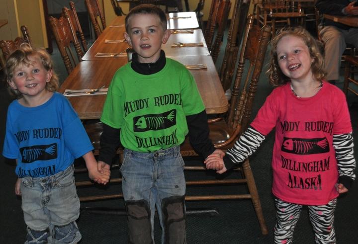 Muddy Rudder Kids T-Shirt Photo