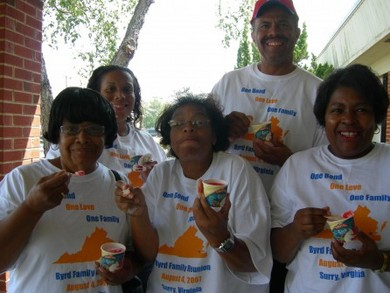 Byrd Family Reuinion...Yum T-Shirt Photo