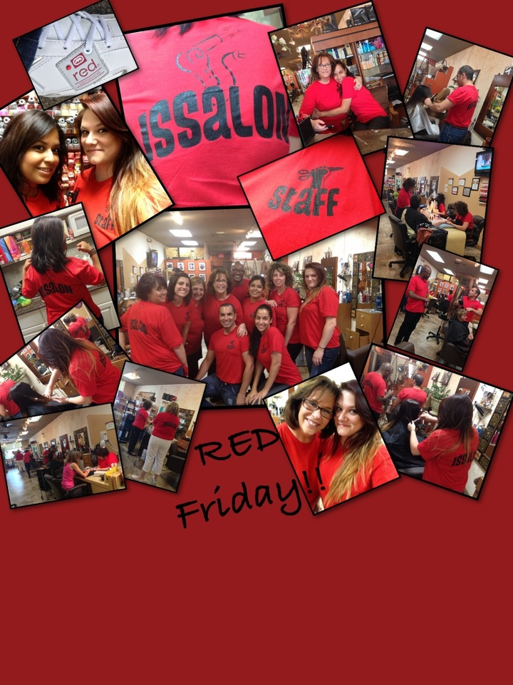 Issalon Supports Red Friday T-Shirt Photo