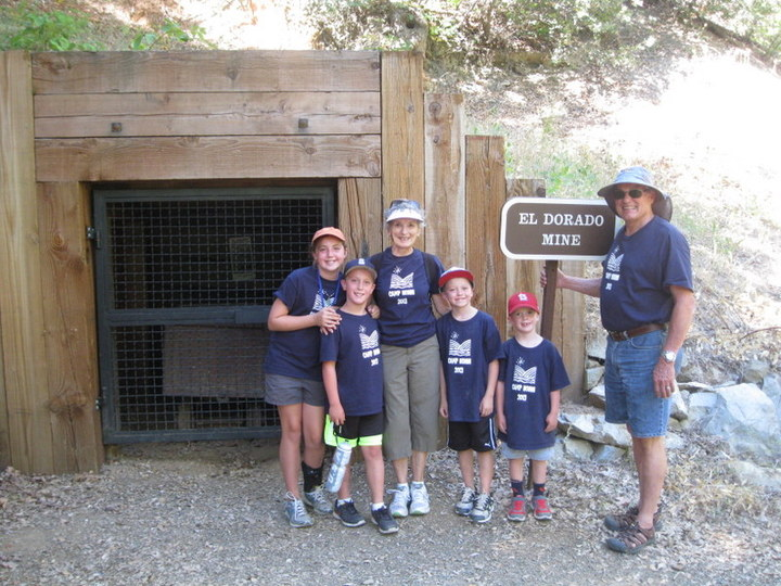 6th Annual Camp Nonni:  Hike To A Gold Mine T-Shirt Photo