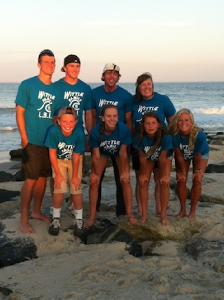 Wittle Family Cousins, Long Beach Island, Nj    2013 T-Shirt Photo
