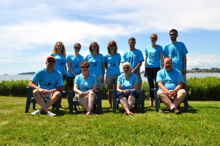 Bailey Island Group Shot 2013 T-Shirt Photo