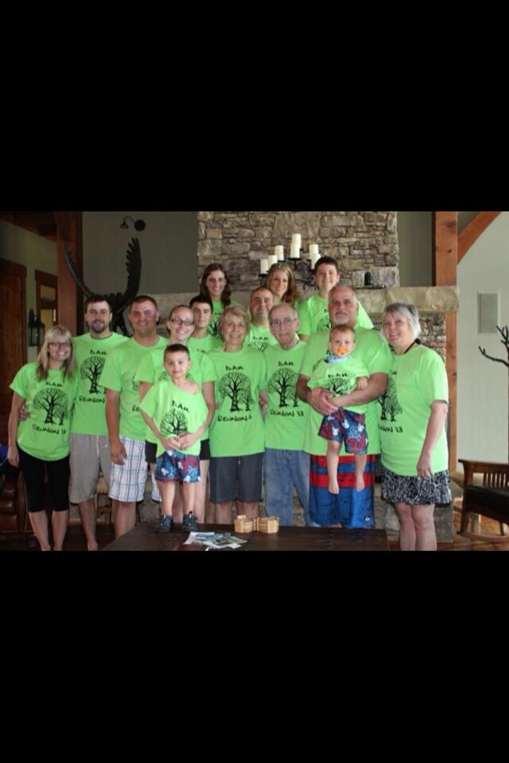 D.A.H. Family Reunion 2013 T-Shirt Photo