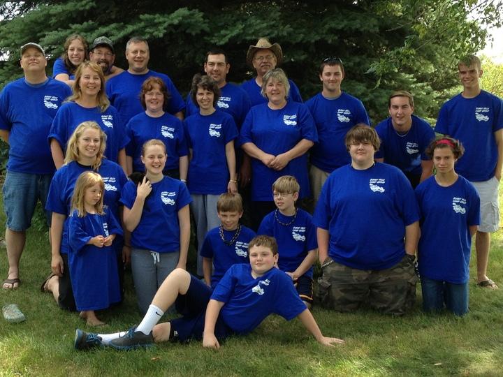 Bunny Hills Camp Group T-Shirt Photo