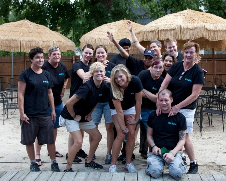 Babes Staff T-Shirt Photo