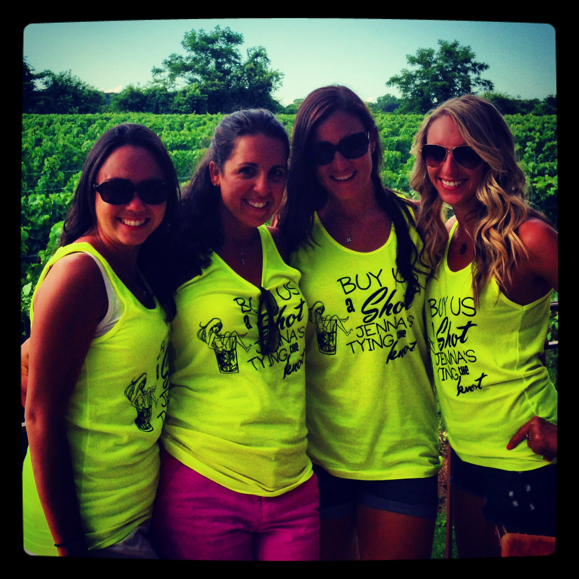 5d7d2e3b2b0 Custom T-Shirts for Bachelorette Party Goes To A Winery - Shirt ...