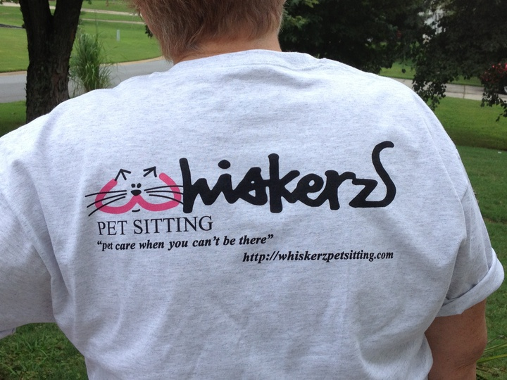 Home Of The Purr Fect Pet Sitter T-Shirt Photo