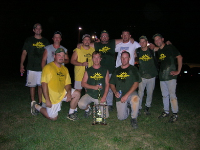 The Home Wreckers Softball Team T-Shirt Photo
