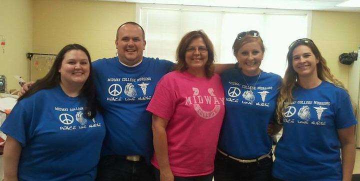 Midway College Nursing T-Shirt Photo