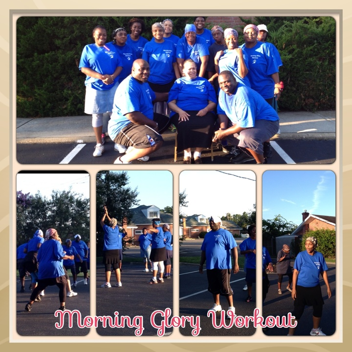 Morning Glory Workout T-Shirt Photo